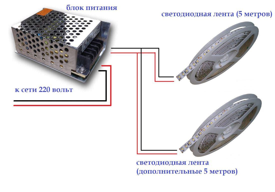 Выпрямитель для светодиодной ленты своими руками 114