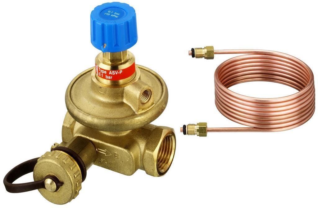 Балансировочный клапан для систем отопления
