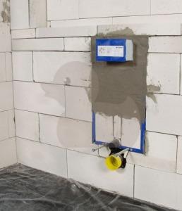 Блочная система инсталляции для унитаза