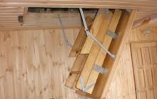 Чердачная лестница своими руками, пошаговая инструкция