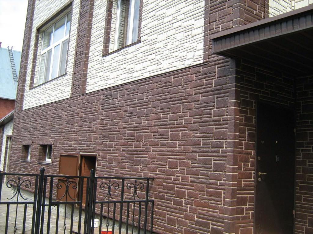 Дом из фасадных панелей