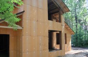 Дом, утепленный пеноплексом