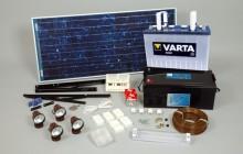 Комплект солнечных батарей для дома: стоимость и виды