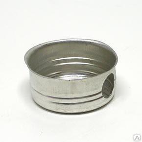 Металлический подрозетник для бетона