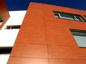 Фасадная панель из керамогранита