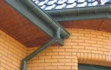 Водосток для крыши из пластика