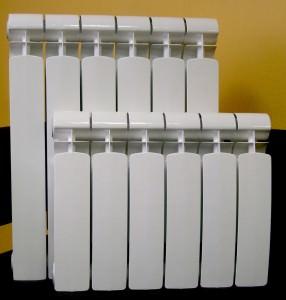 Полубиметаллический радиатор отопления