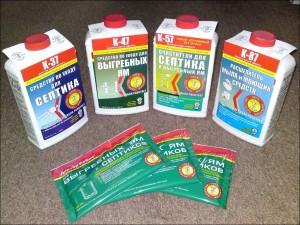 Препараты для выгребных ям