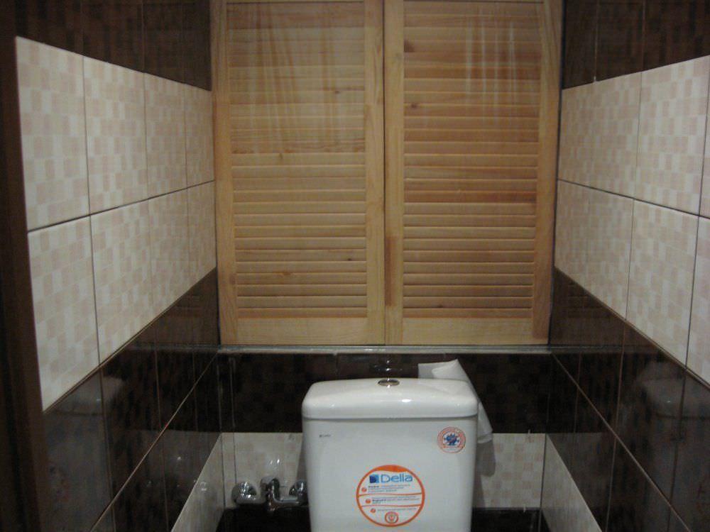 Туалет со шкафчиком