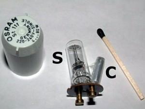 Стартер для ламп дневного света