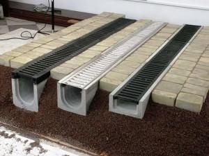 Водоотводные бетонные лотки