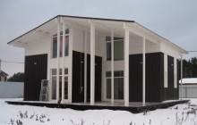 Зимний каркасный дом под ключ