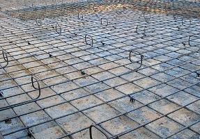 Укладка бетона литьем