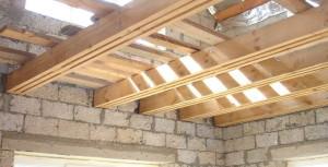 Чердачные деревянные перекрытия