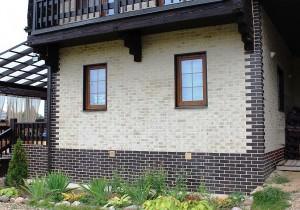 Дом с клинкерным фасадом