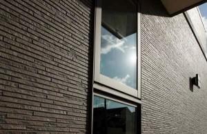 Фасадная панель дома Kmew