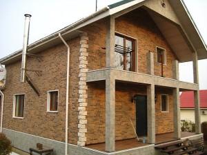 Фасадная панель дома Nichiha