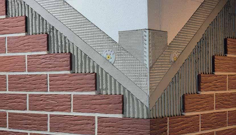 Клинкерные панели на стене