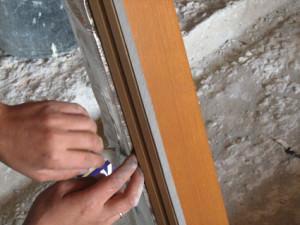 Монтаж ленты ПСУЛ на окно