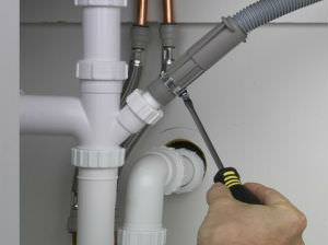 Проверка подключения стиральной машины к канализации