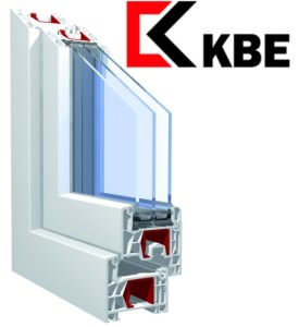 Профиль пластикового окна KBE