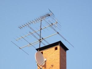 Мощная антенна для телевизора