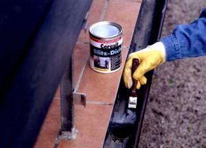 Нанесение термостойкой краски по металлу