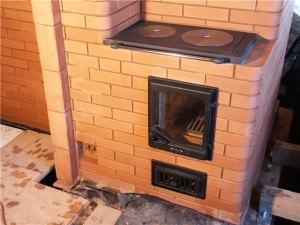 Отопительно-варочная печь для дачи