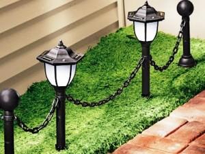 Парковые лампы уличного освещения