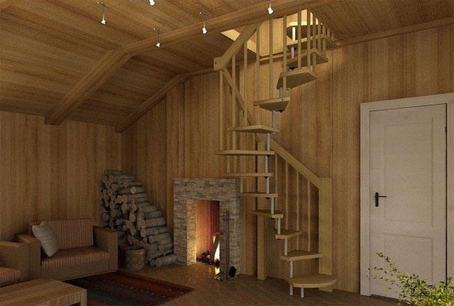 Потолочная лестница