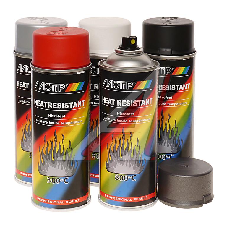 Термостойкие краски по металлу
