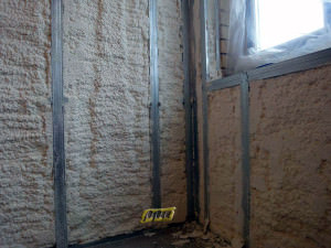 Балкон, утепленный пенополиуретаном