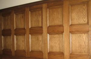 Деревянная стеновая панель