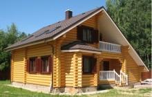Дом с баней под одной крышей