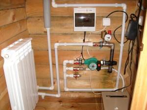 Электрический котел в доме