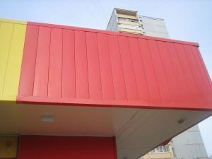 Металлическая фасадная панель