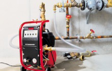 Насос для опрессовки систем отопления