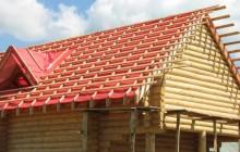 Обрешетка под профнастил на крыше дома