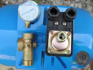 Реле давления воды для насоса