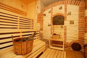 Русская печь в бане