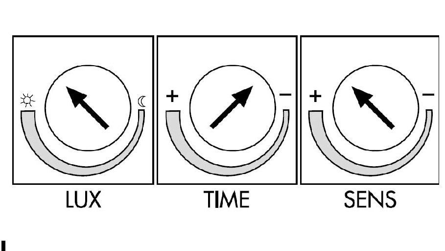 Схема настройки датчика движения