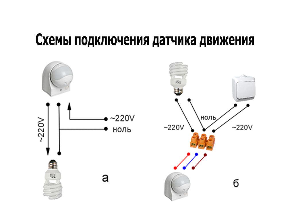 подключение датчиков