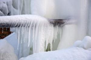 Замерзшая канализация